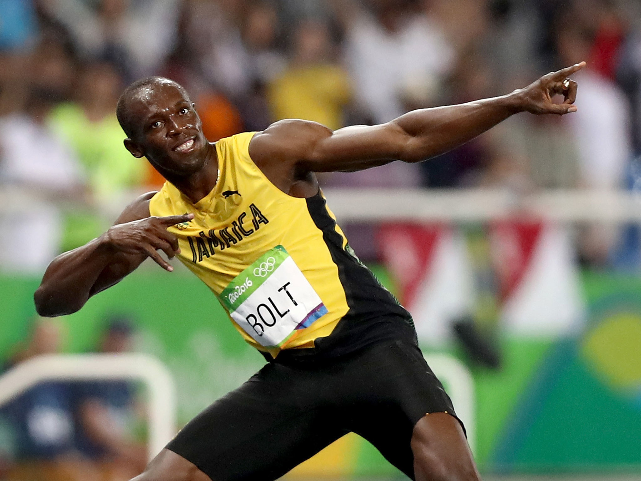 2048x1536 Rio 2016 200m: Usain Bolt wins gold to remain on course for Olympic 'triple  triple' | The Independent