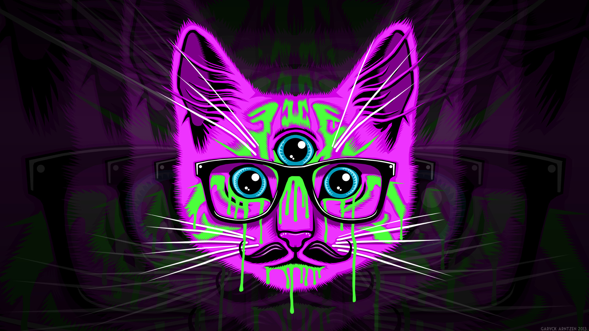 1920x1080 Meow Illuminati Wallpaper HD.