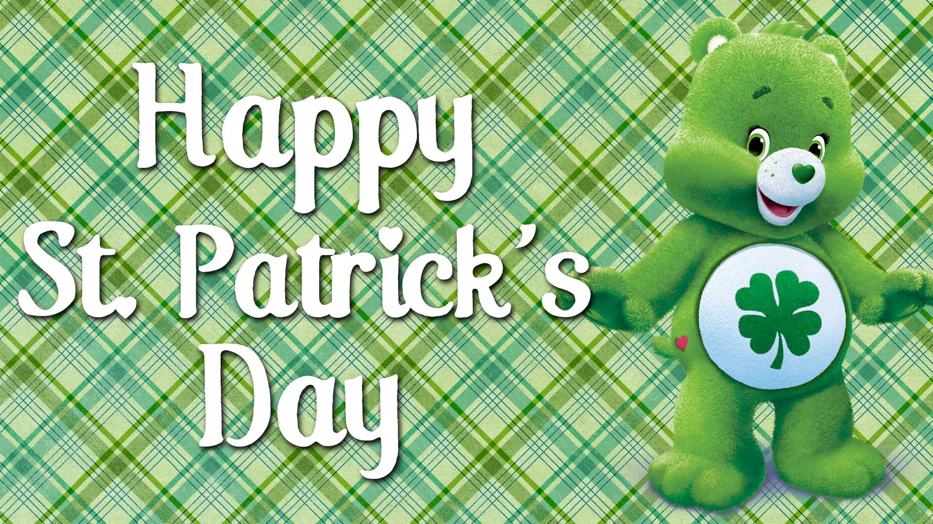 1920x1080 Happy St Patrick's Day from the Care Bears! | Good Luck Bear's Best Moments  - YouTube