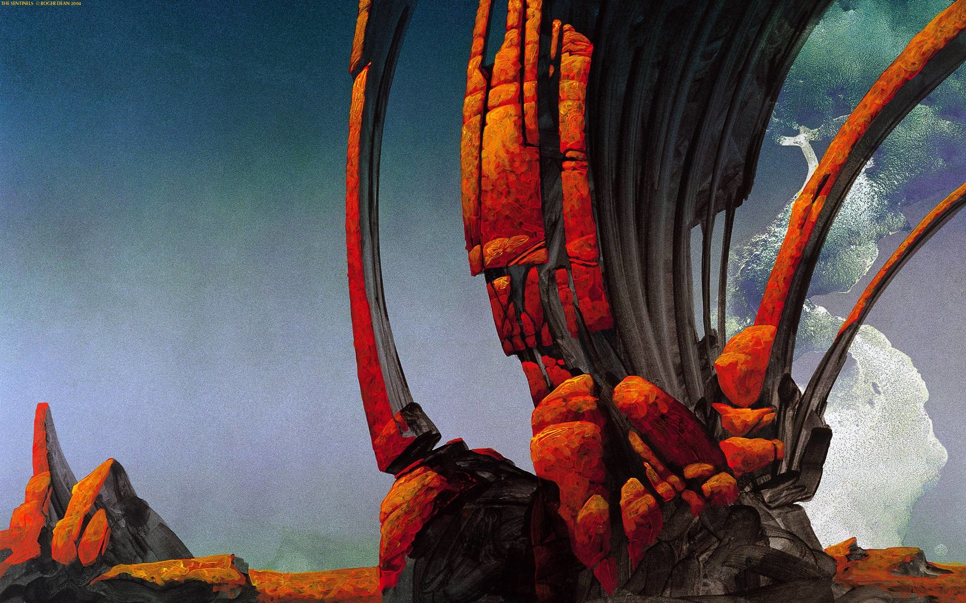 1920x1200 Roger Dean Wallpaper For Android #91825 - The HD Wallpaper