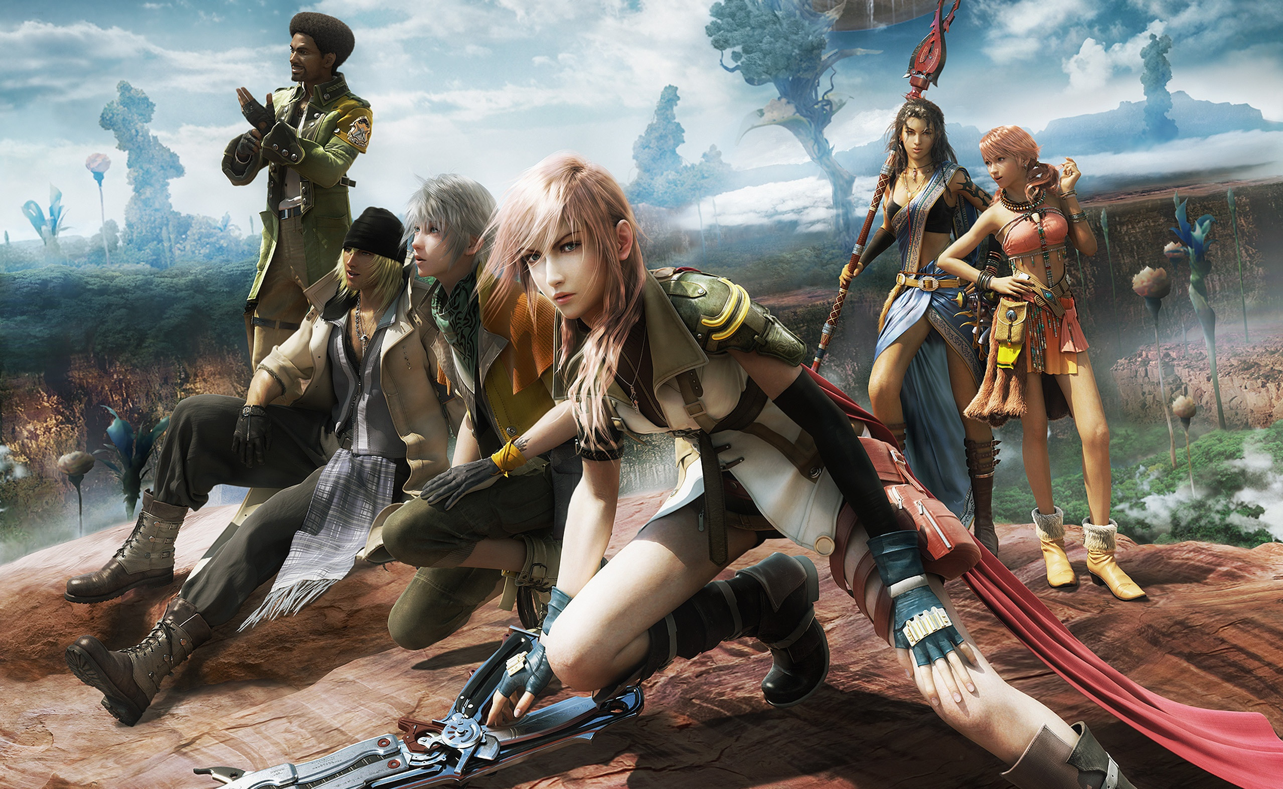 2558x1573  HD Wallpaper | Background ID:109667.  Video Game Final  Fantasy XIII