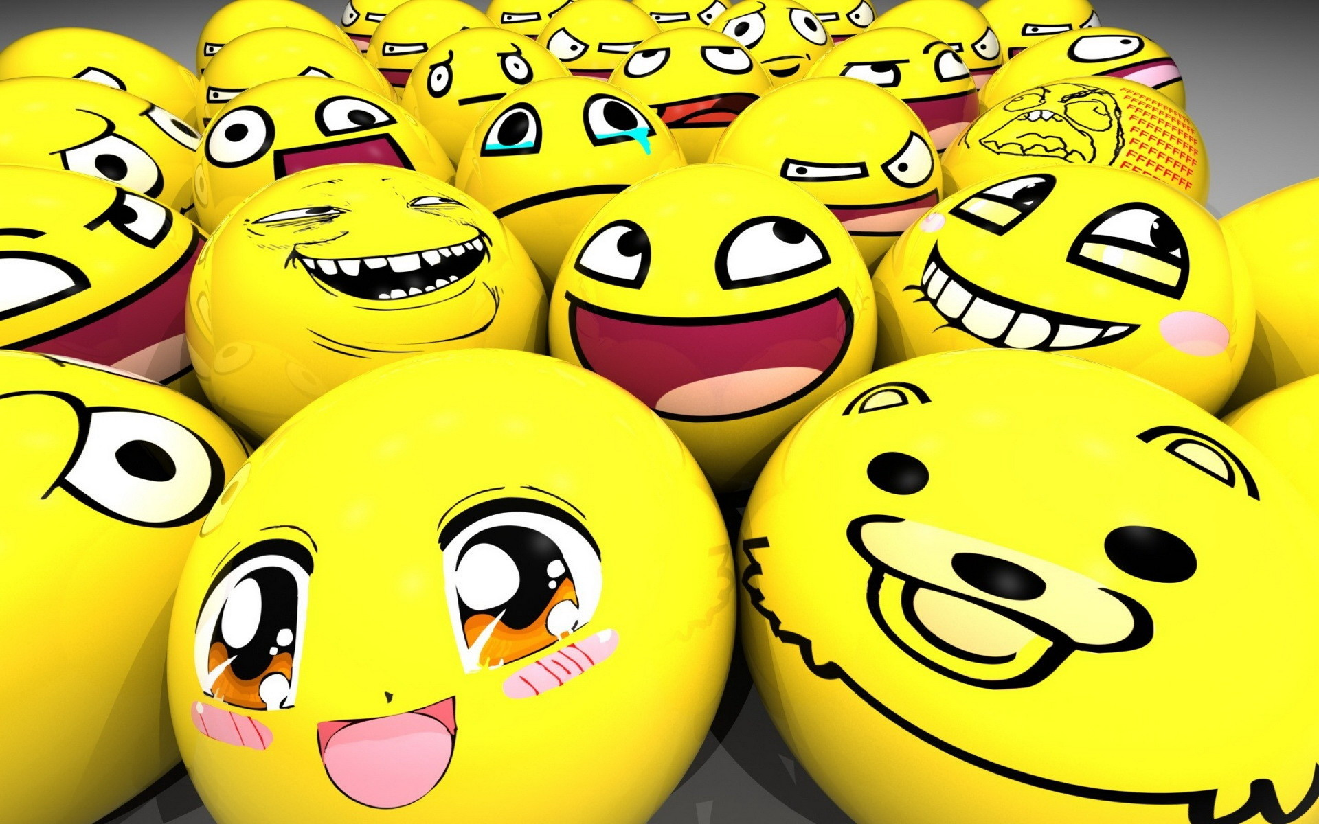 1920x1200 Cute Smiley Face HD Wallpaper
