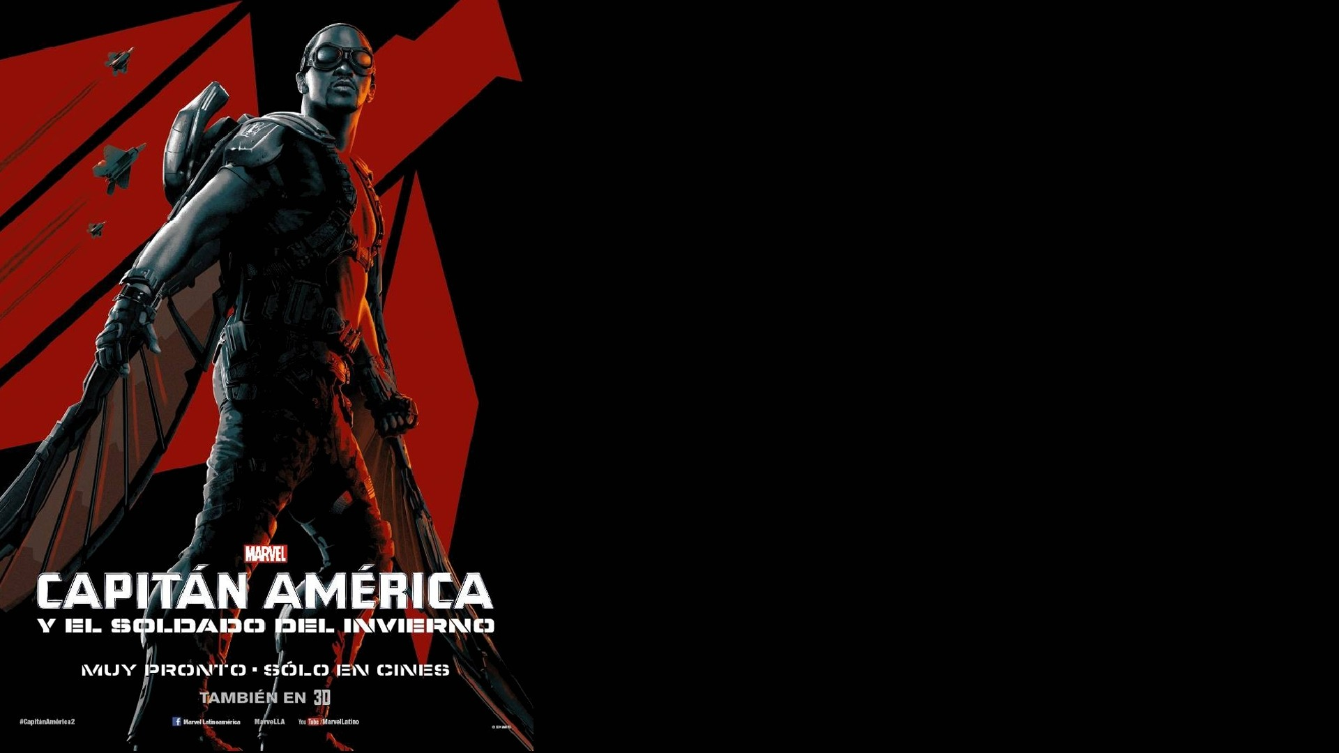 1920x1080 Movie - Captain America: The Winter Soldier Falcon (Marvel Comics) Anthony  Mackie Wallpaper