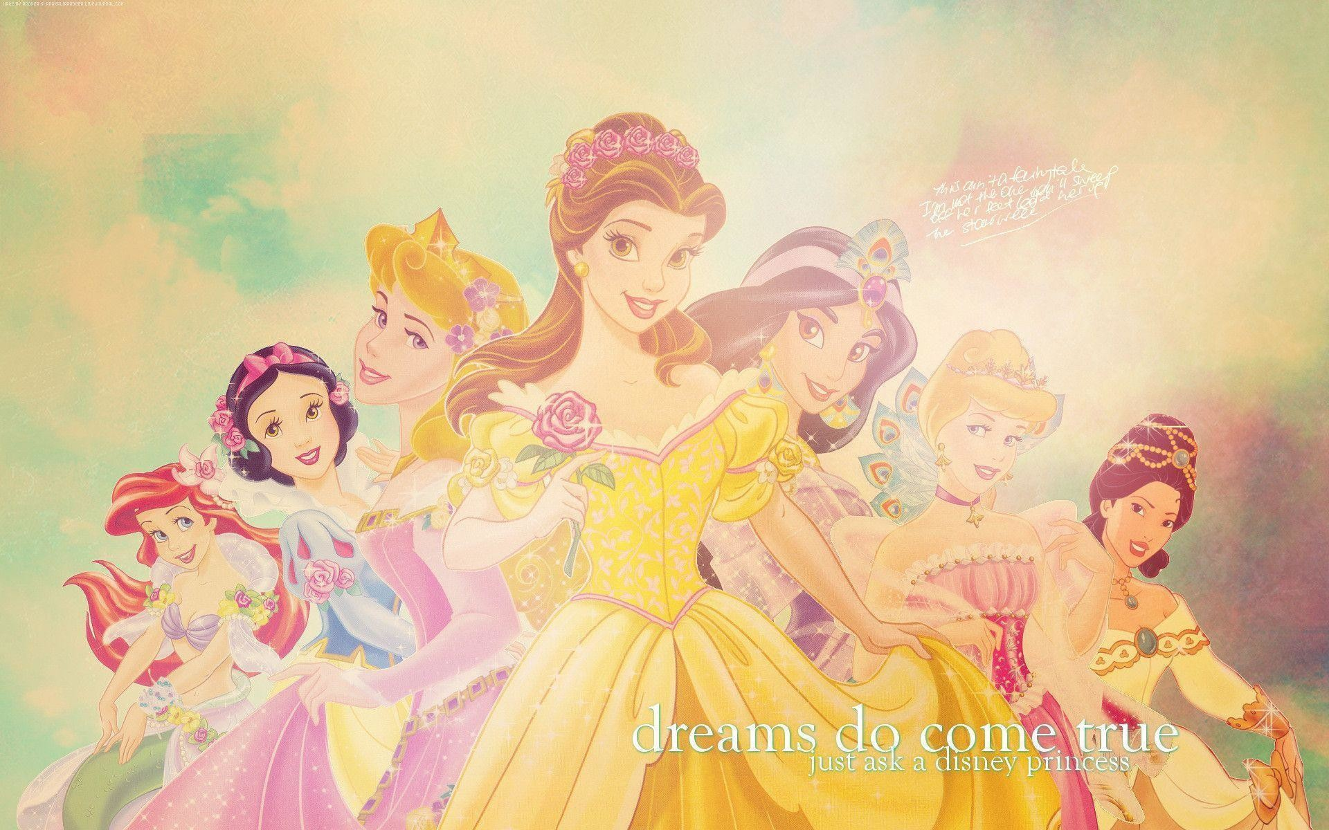 1920x1200 Disney Princesses - Disney Princess Wallpaper (7250269) - Fanpop