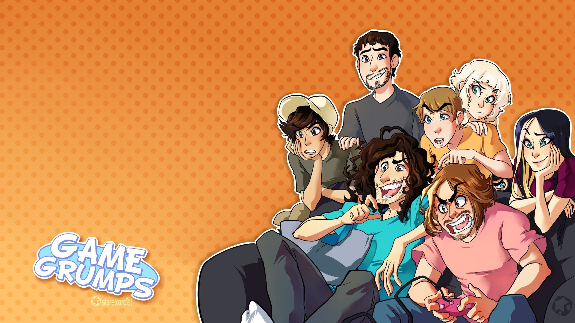 1920x1080 GameGrumps Wallpaper because I apparently have too much time on my .
