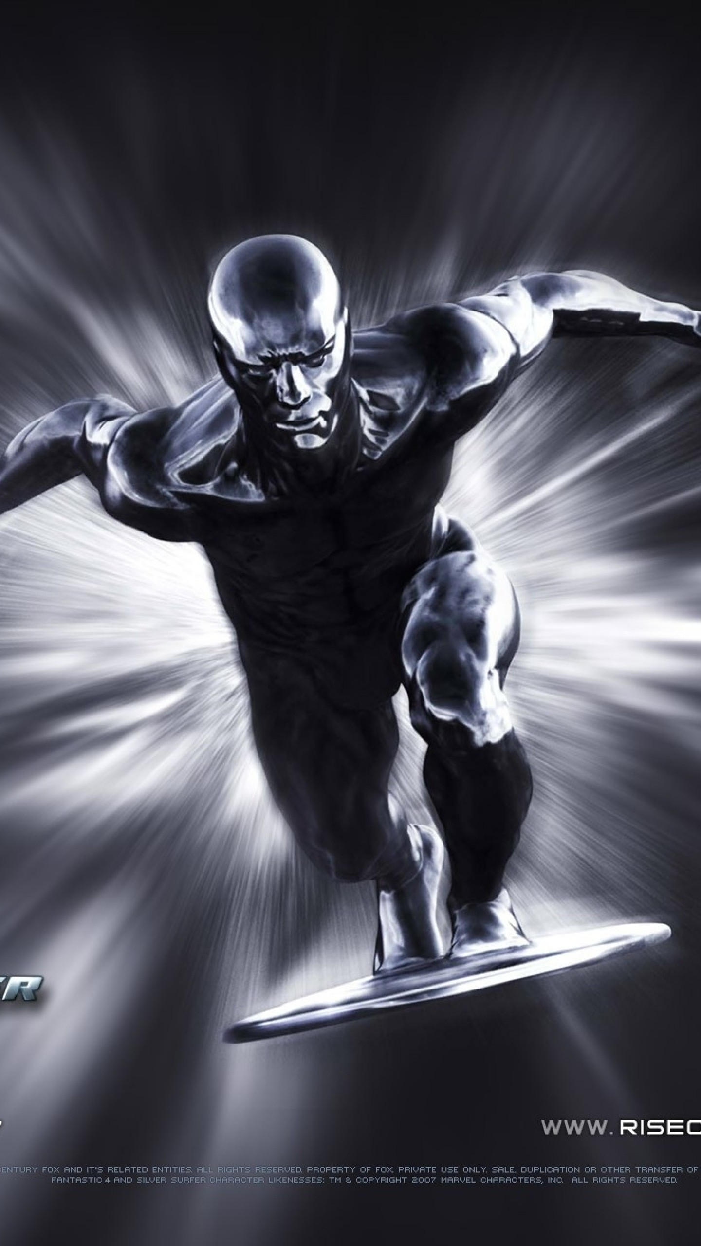 1440x2560  Wallpaper rise of the silver surfer, fantastic 4, silver surfer,  surfer,