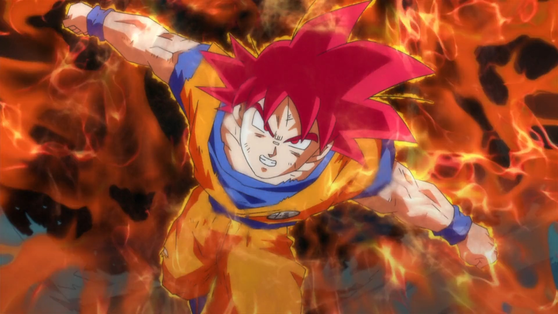 Super saiyan god goku wallpaper 71 images - Dragon ball super background music mp3 download ...