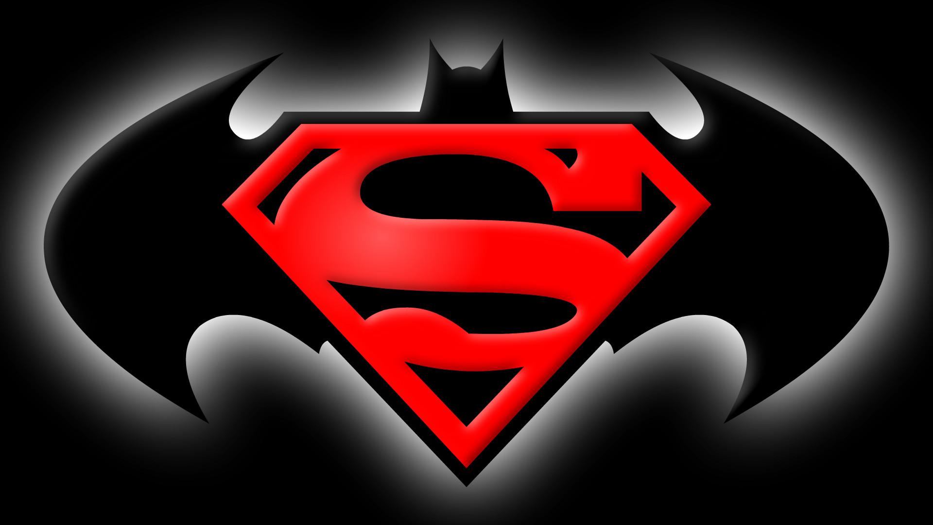 Batman Vs Superman Logo Wallpapers - Wallpaper Cave |Batman Superman Logo Wallpaper