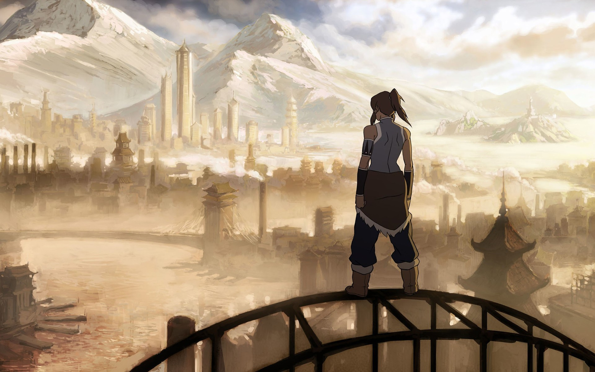 1920x1200 Korra - Avatar - Legend of Korra Wallpaper #4378