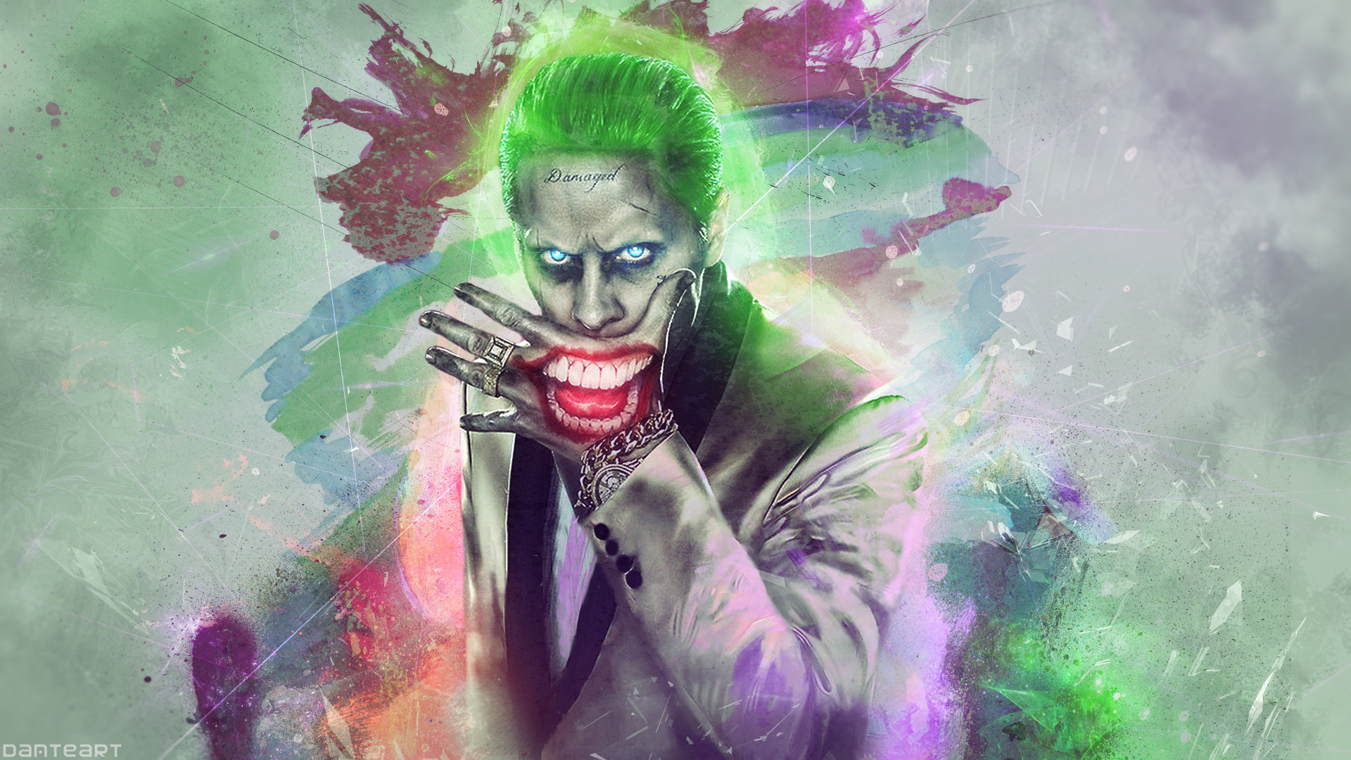 1920x1080 Suicide Squad The JOKER Wallpaper by DanteArtWallpapers Suicide Squad The JOKER  Wallpaper by DanteArtWallpapers