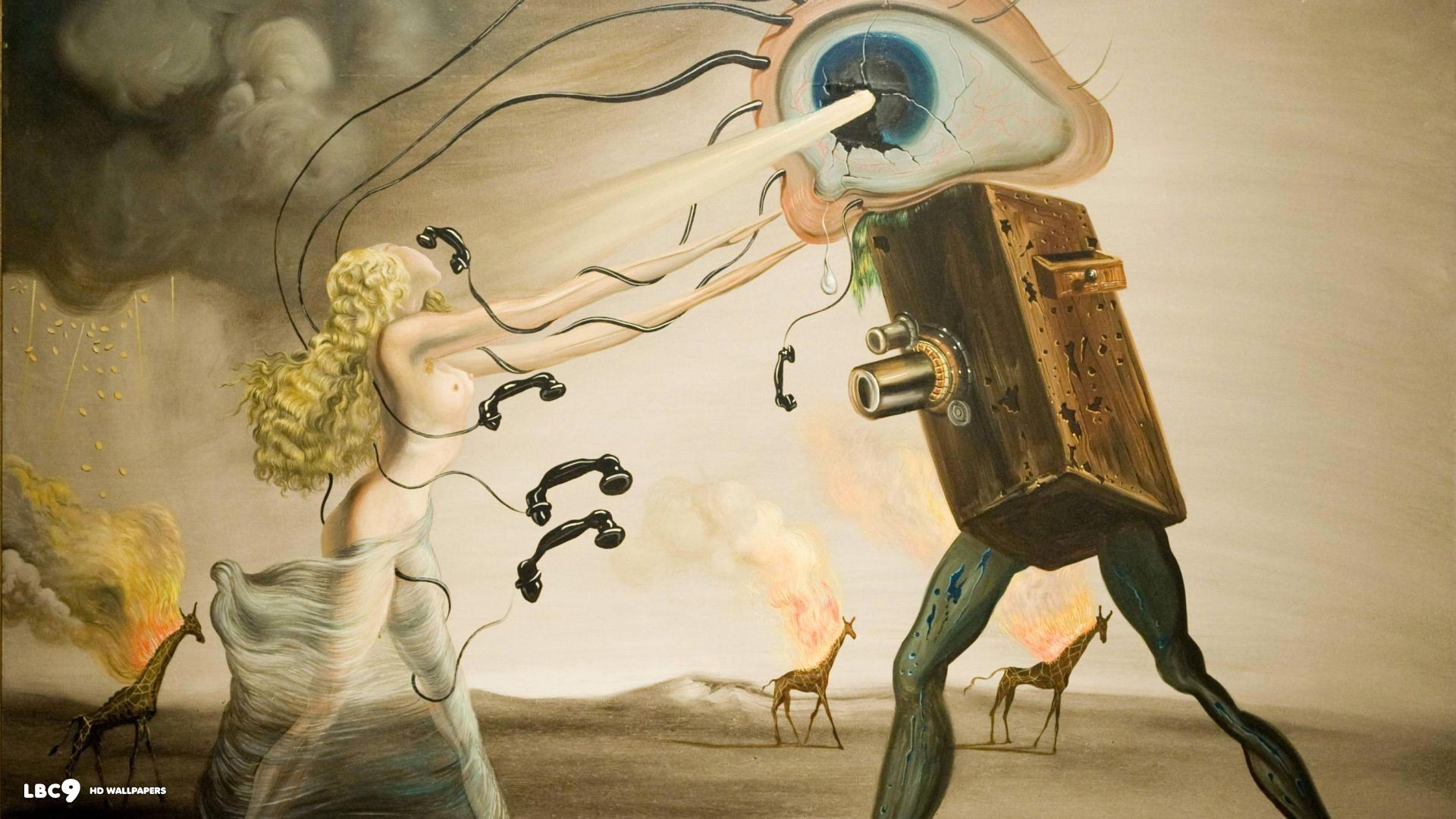 The Persistence of Memory ints by Salvador Dalí at