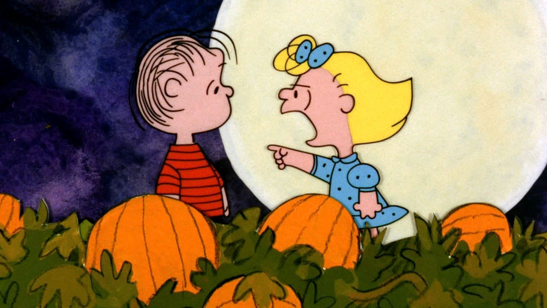 1920x1080 Charlie Brown Great Pumpkin Wallpaper