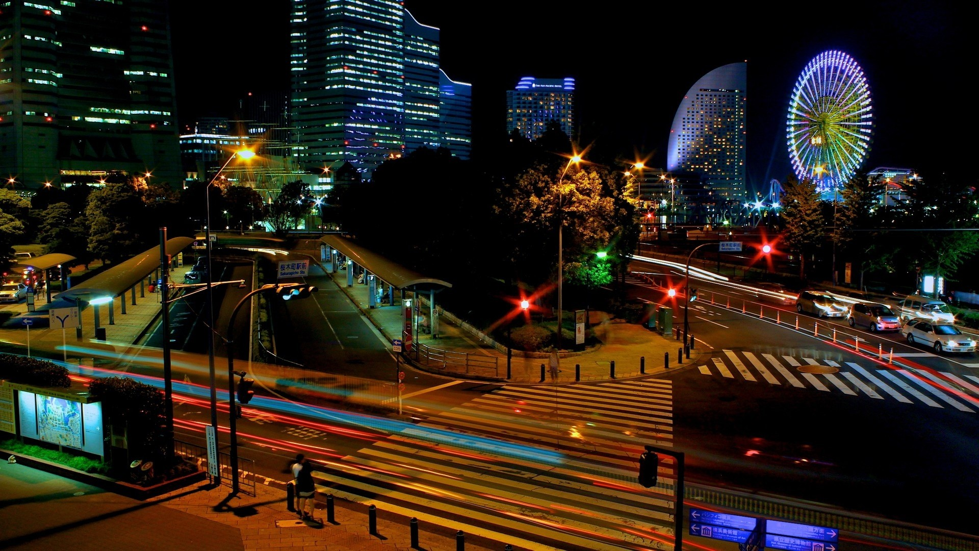 1920x1080 Preview wallpaper japan, tokyo, night, lights city, beautiful, cityscape