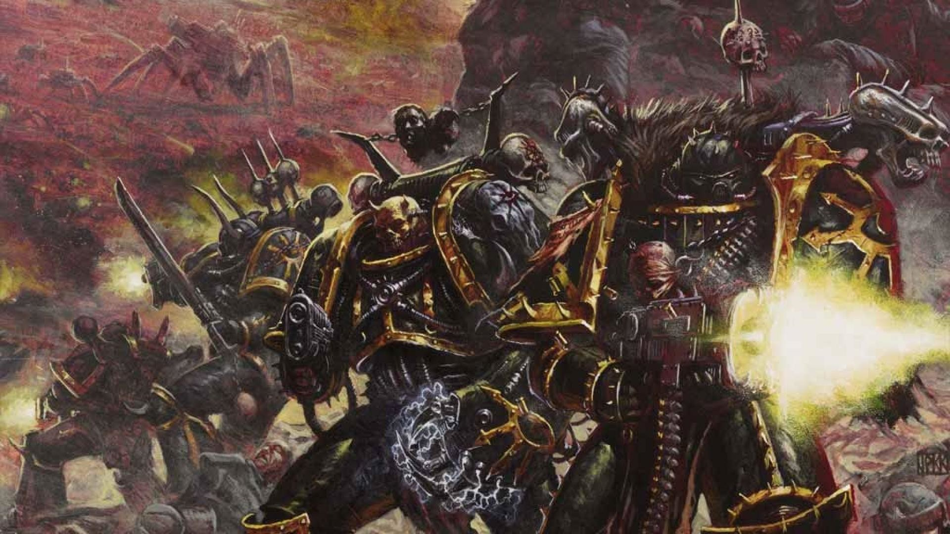 1920x1080 50 Images That Show Us The Legacy of Chaos Space Marines | GAMERS DECIDE