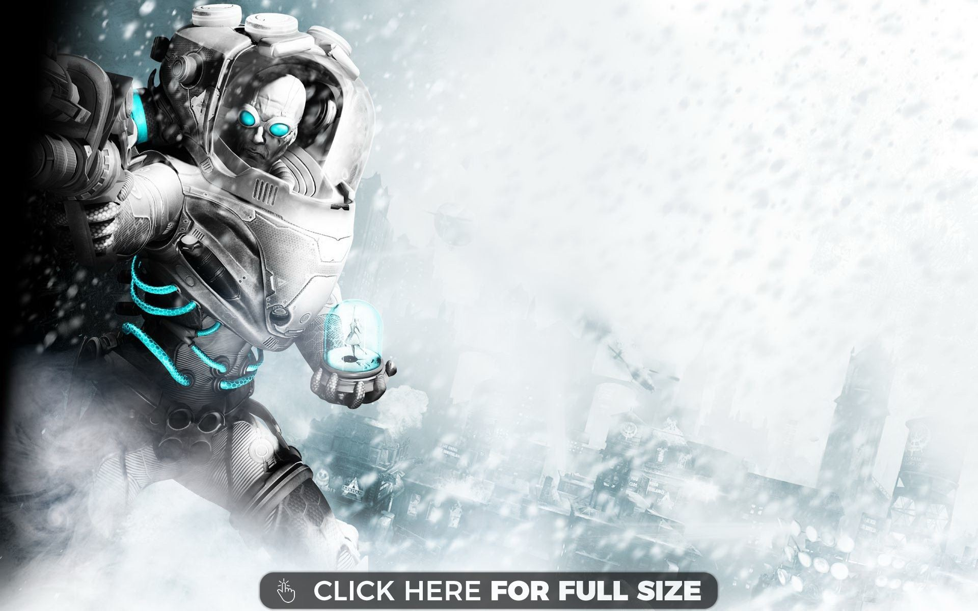 1920x1200 Mr Freeze in Batman Arkham City wallpaper
