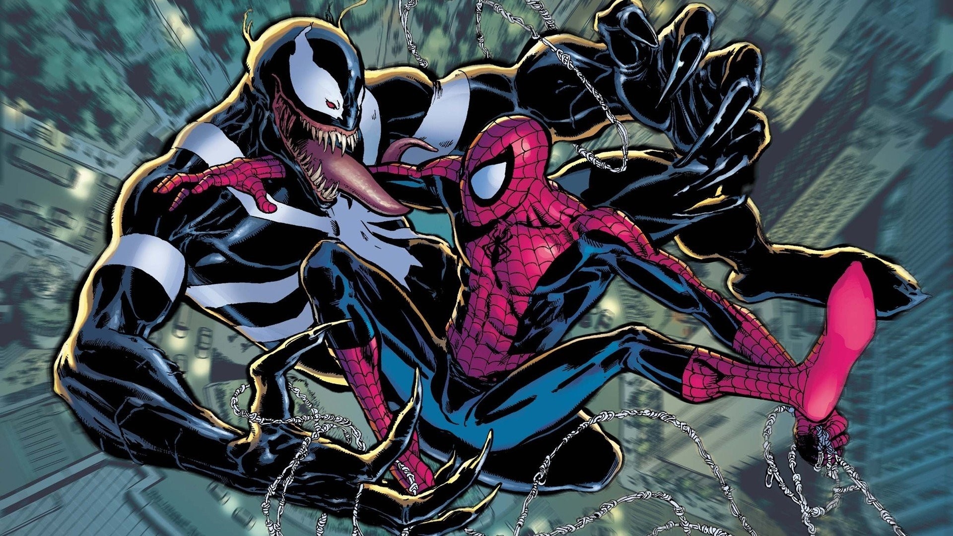 1920x1080 Venom, Spider Man, Comics, Marvel Comics Wallpapers HD / Desktop .
