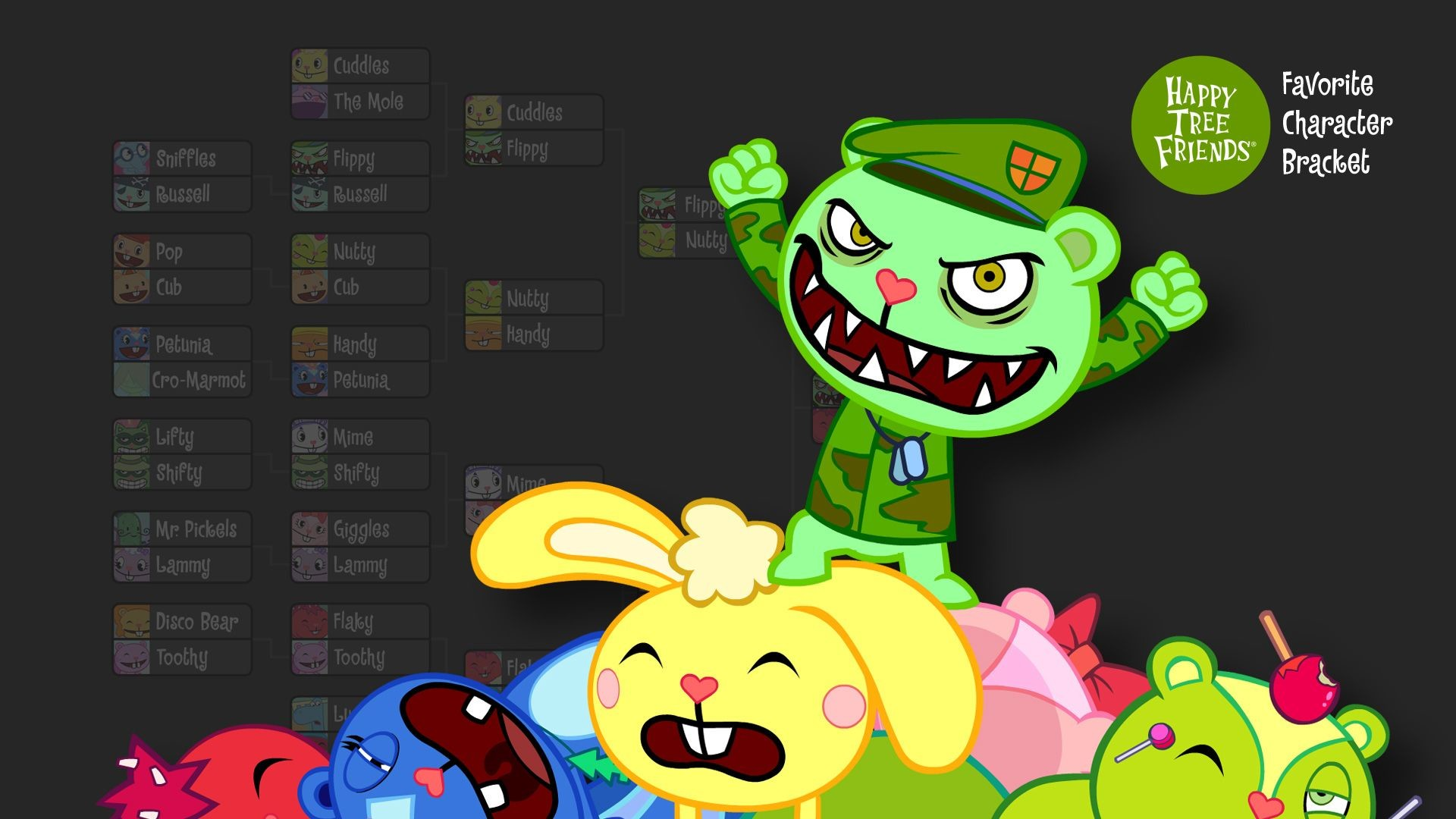 1920x1080 Happy Tree Friends Wallpaper 17 - 1920 X 1080