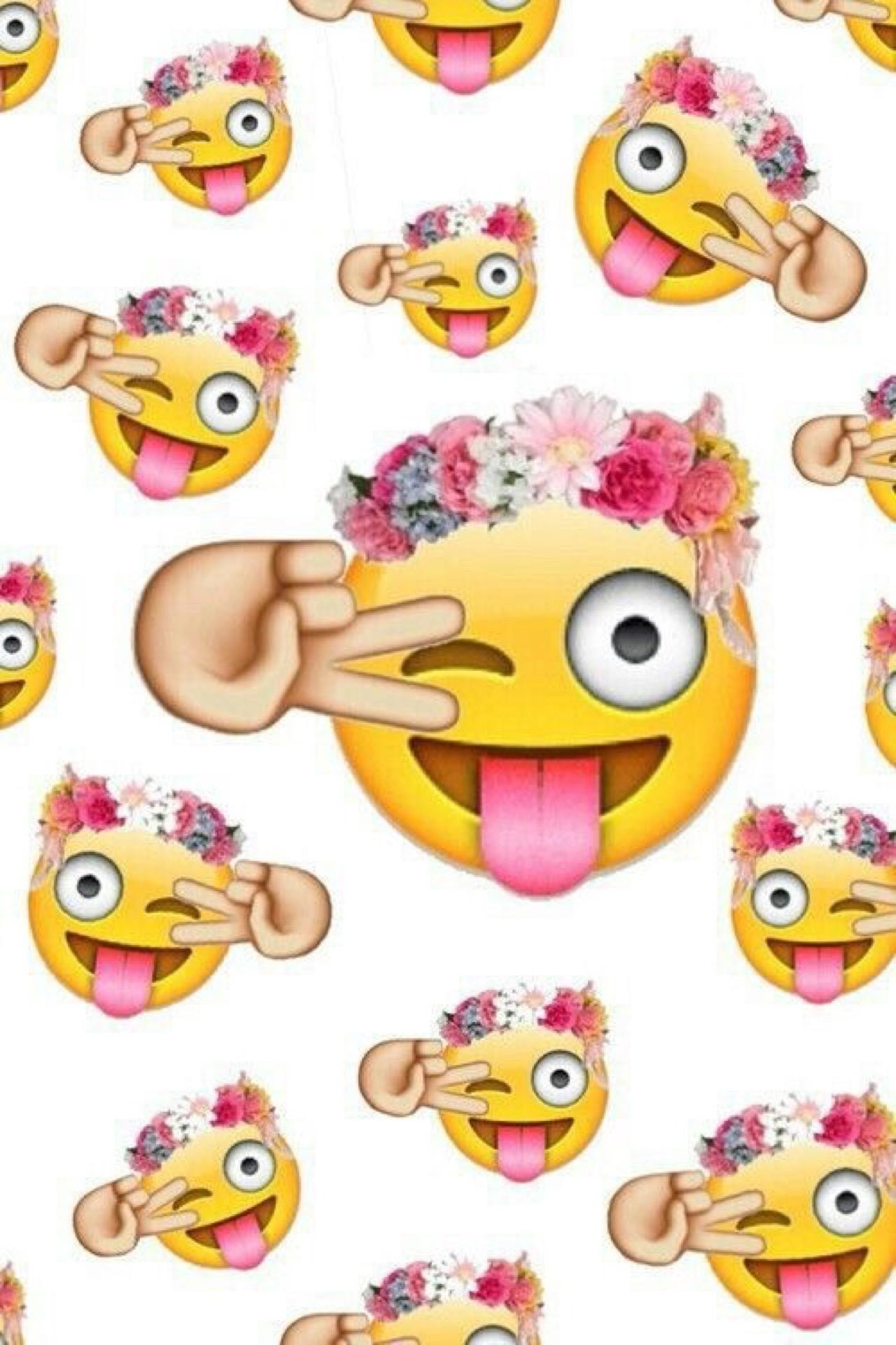 Iphone Girly Cute Emoji Wallpaper Wallpaper Hd For Android