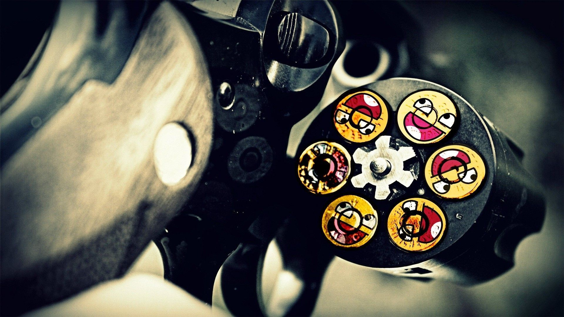 1920x1080 Awesome face bullets HD wallpaper