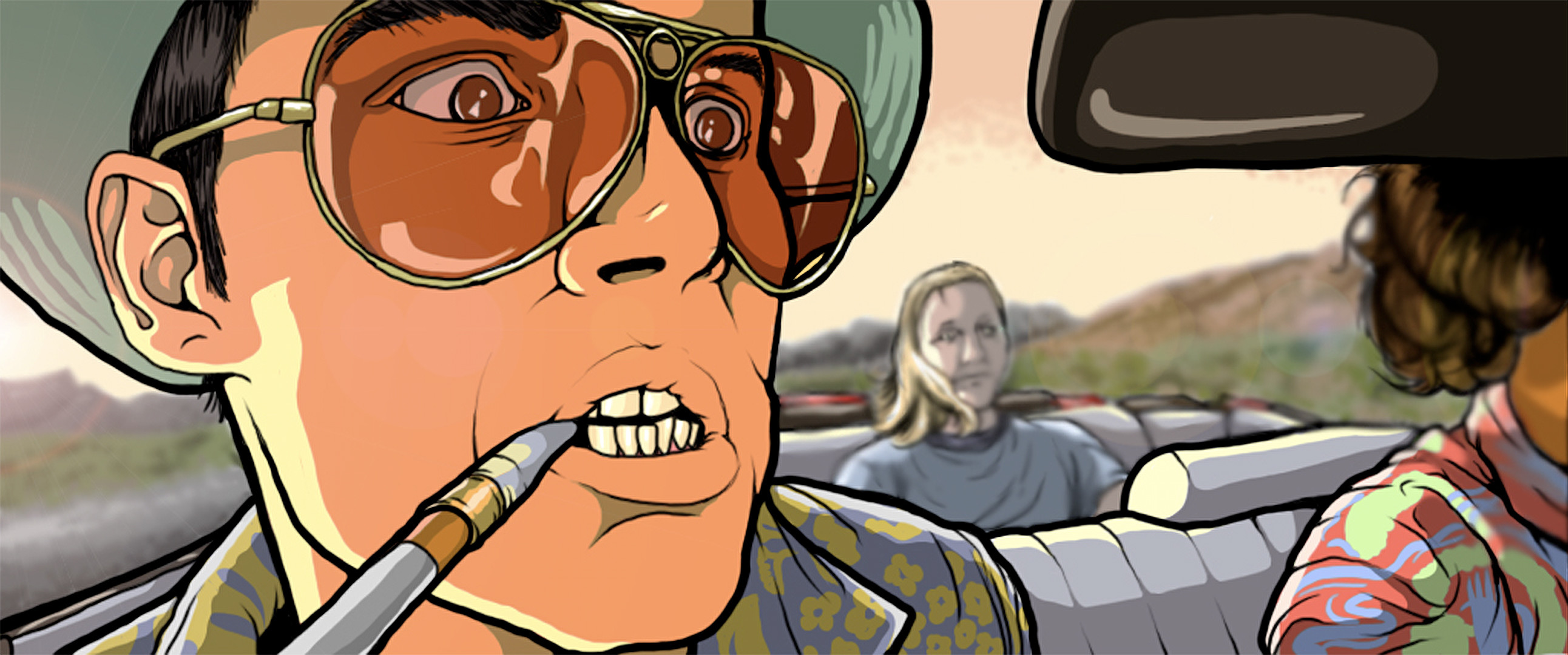 2584x1080 Fear And Loathing #16