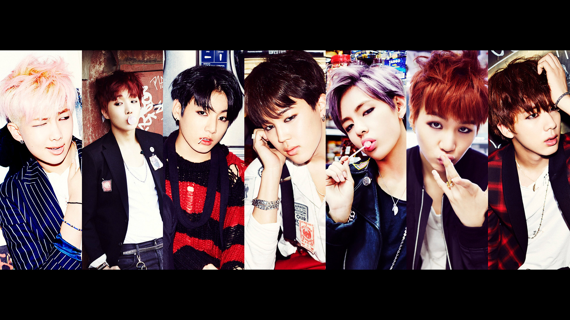 1920x1080 V Suga Rap Monster Jungkook Jin Jimin J-Hope BTS Bangtan Boys 1080p HD  Wallpaper