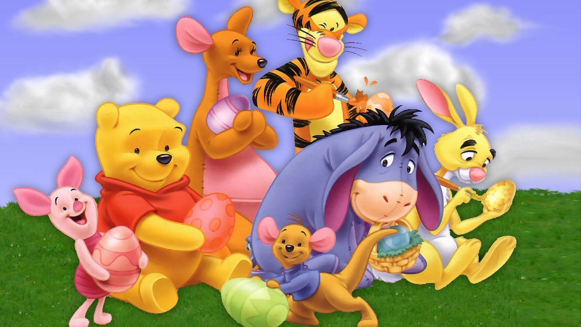 1920x1080 Winnie The Pooh Wallpapers