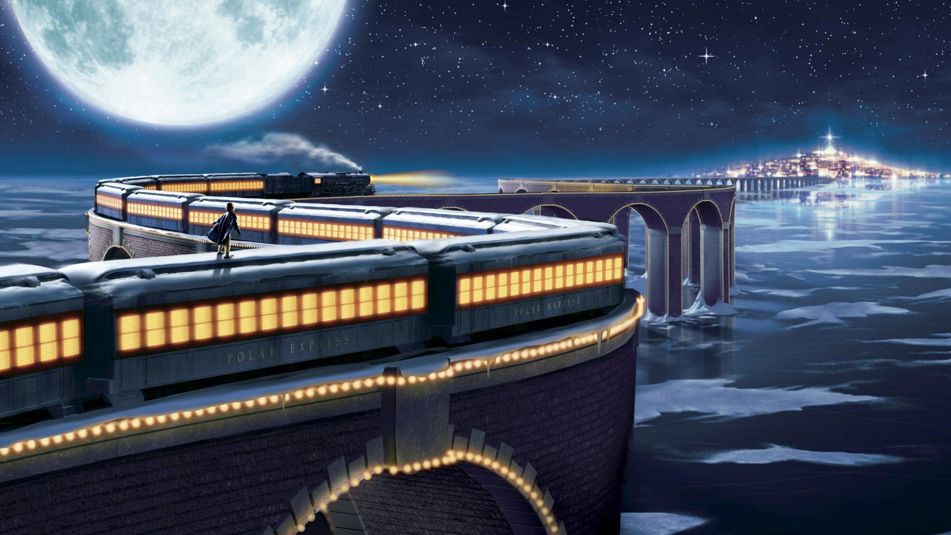 1920x1080 HD Wallpaper | Background ID:824572.  Movie The Polar Express. 1  Like