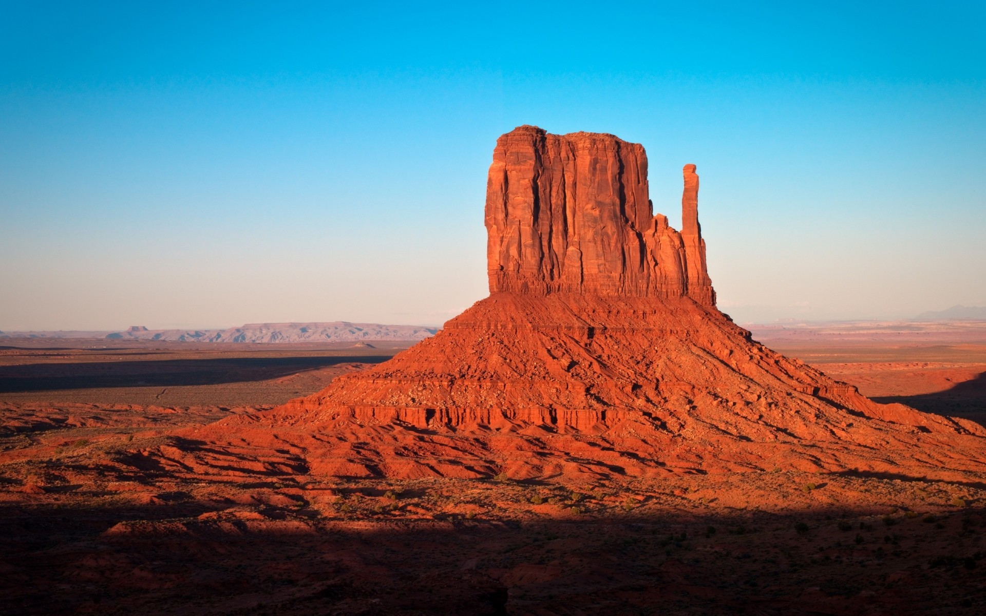 Wallpaper Monument Valley desert cowboy USA x HD Picture
