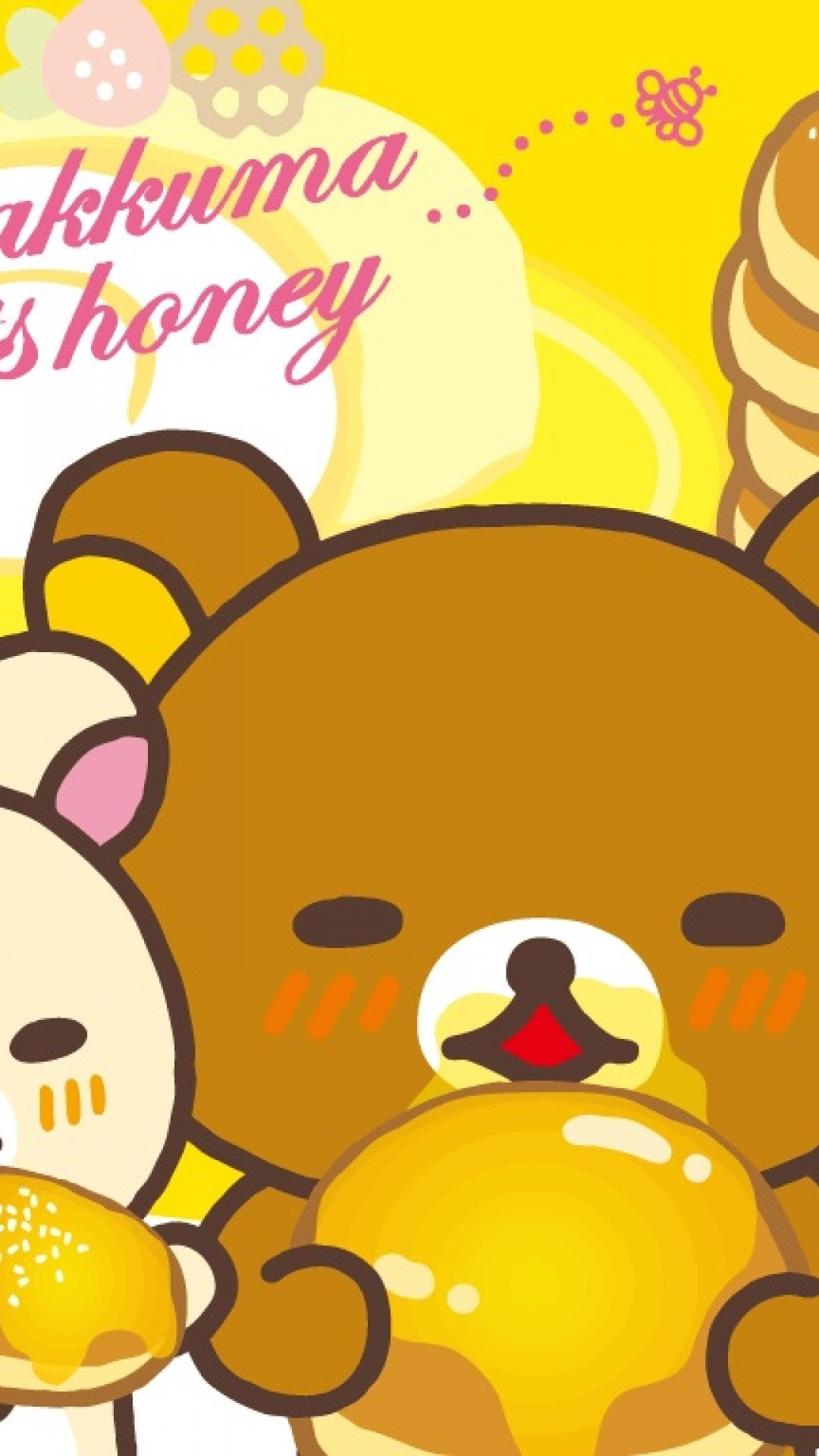 1080x1920 rilakkuma IPhone6s wallpaper