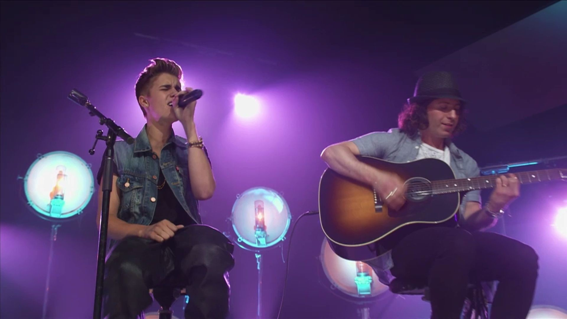 1920x1080 All Around The World (Acoustic) (Live) - Justin Bieber | Music | Disney  Video