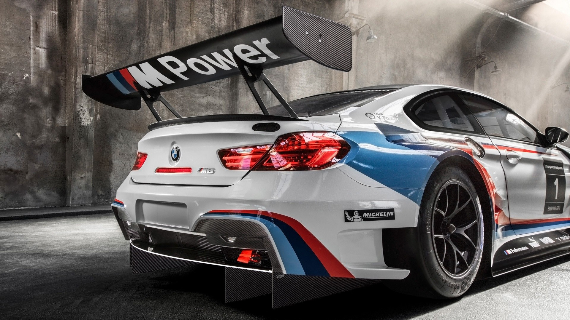 1920x1080 Download now full hd wallpaper bmw m6 back view stickers sport car ...