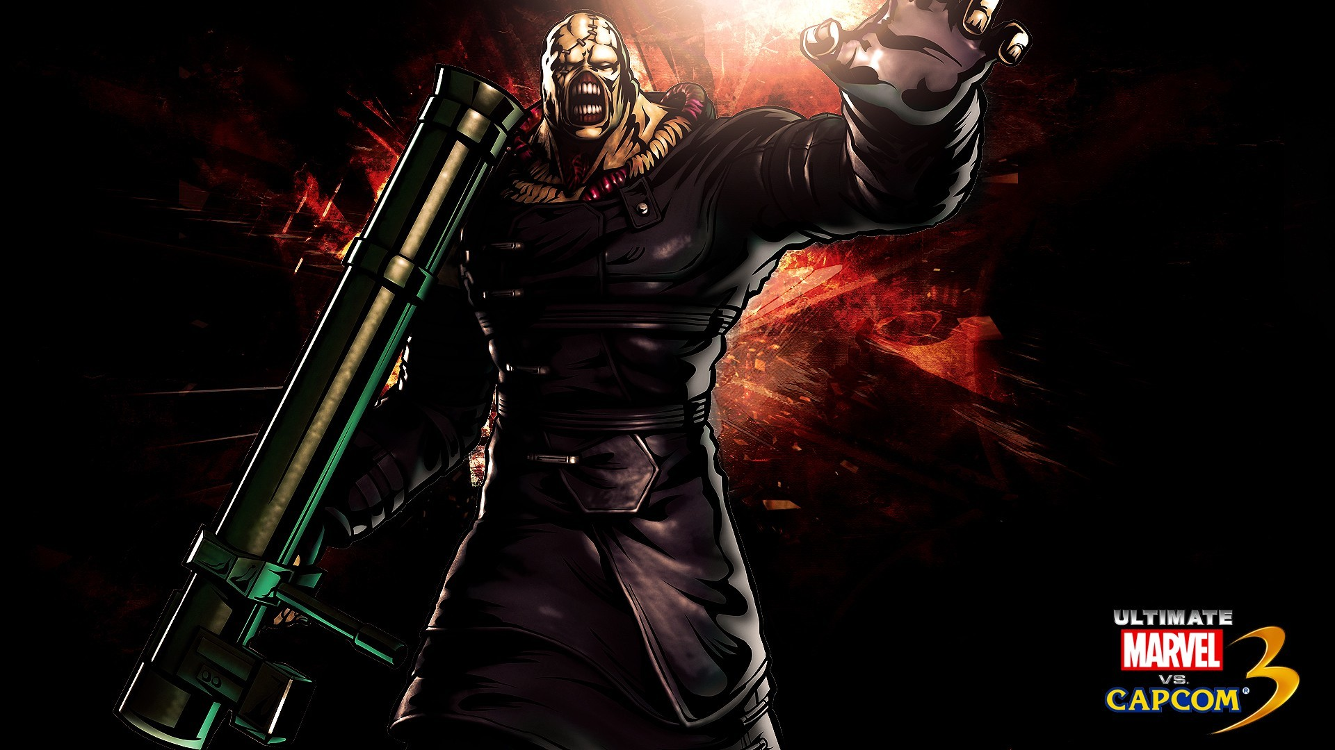 1920x1080 Evil Nemesis Wallpaper, Resident Evil Nemesis iPhone Wallpaper .