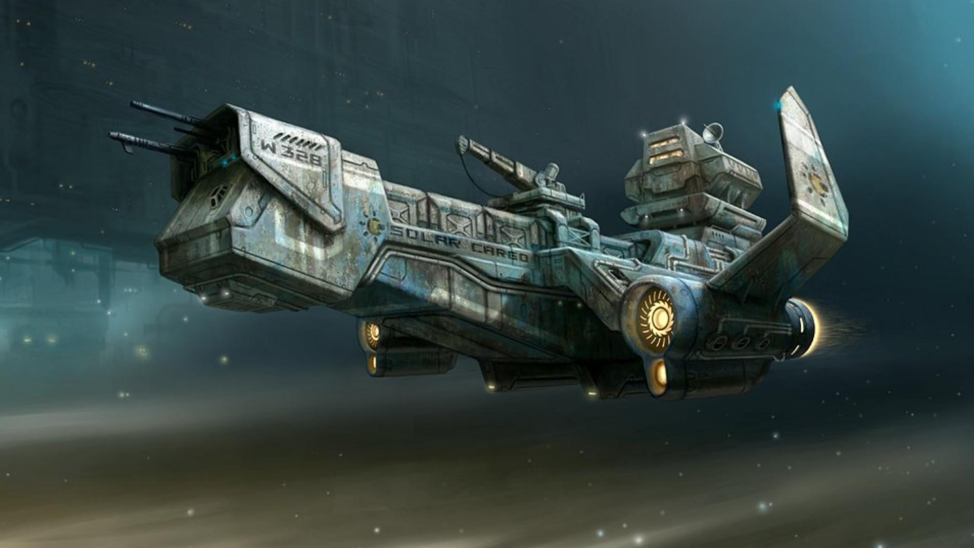 Sci Fi Spaceship Wallpaper (81+ Images