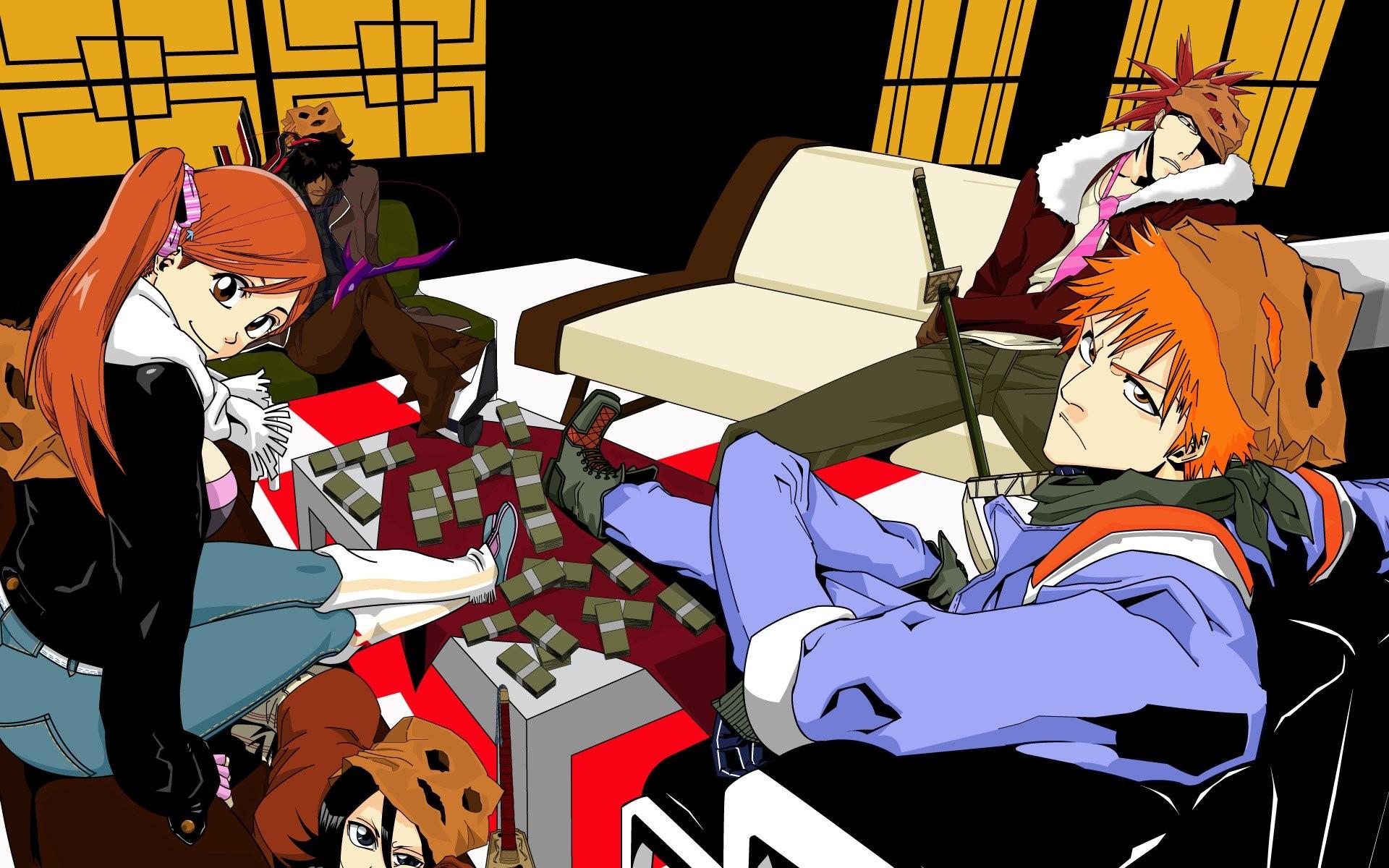 Bleach Ichigo and Rukia Wallpaper (63+ images)