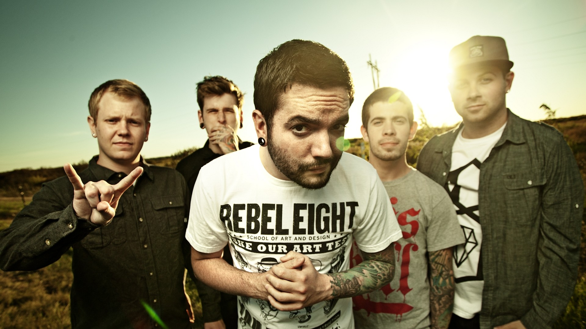 1920x1080 A Day To Remember Wallpaper