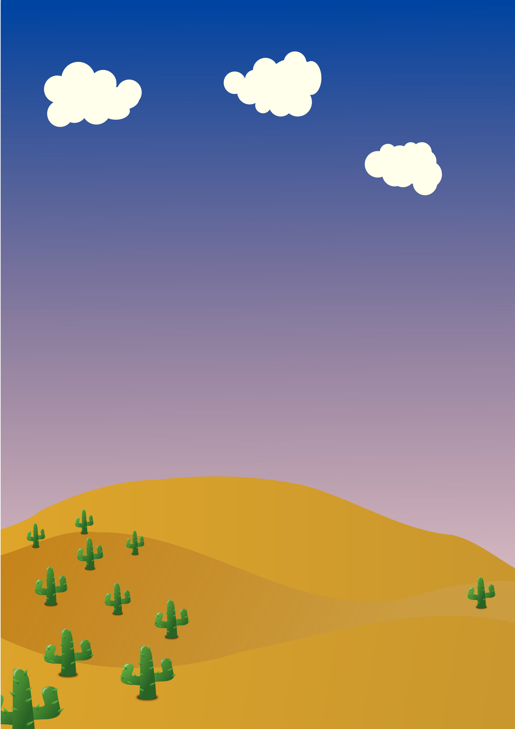 1697x2400 Desert background