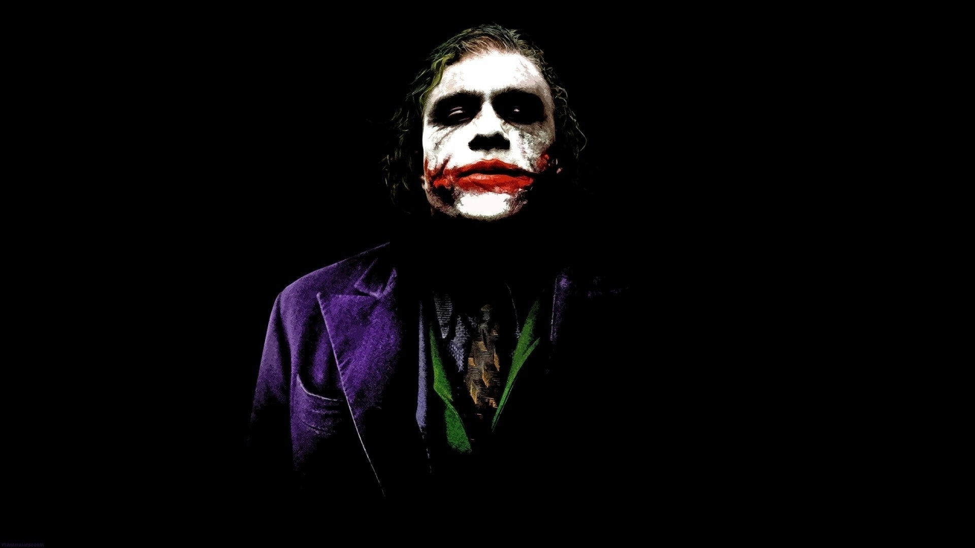 1920x1080 Heath Ledger Joker Wallpaper Hd Free Download