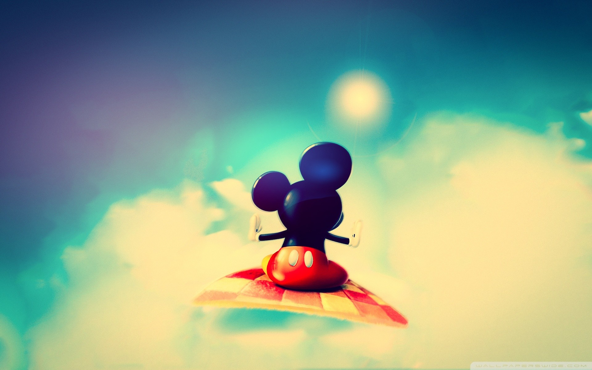 1920x1200 Cute Mickey Mouse HD Wide Wallpaper for Widescreen