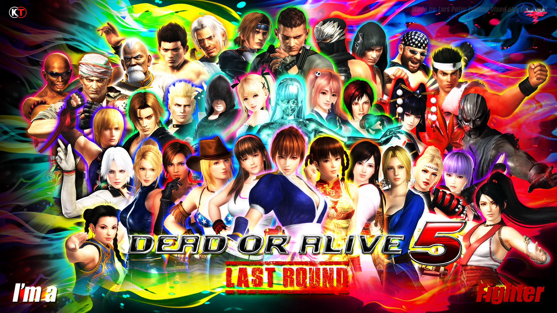 1920x1080 ... DEAD OR ALIVE 5 - LAST ROUND - CHARACTER WALLPAPER by Leifang12