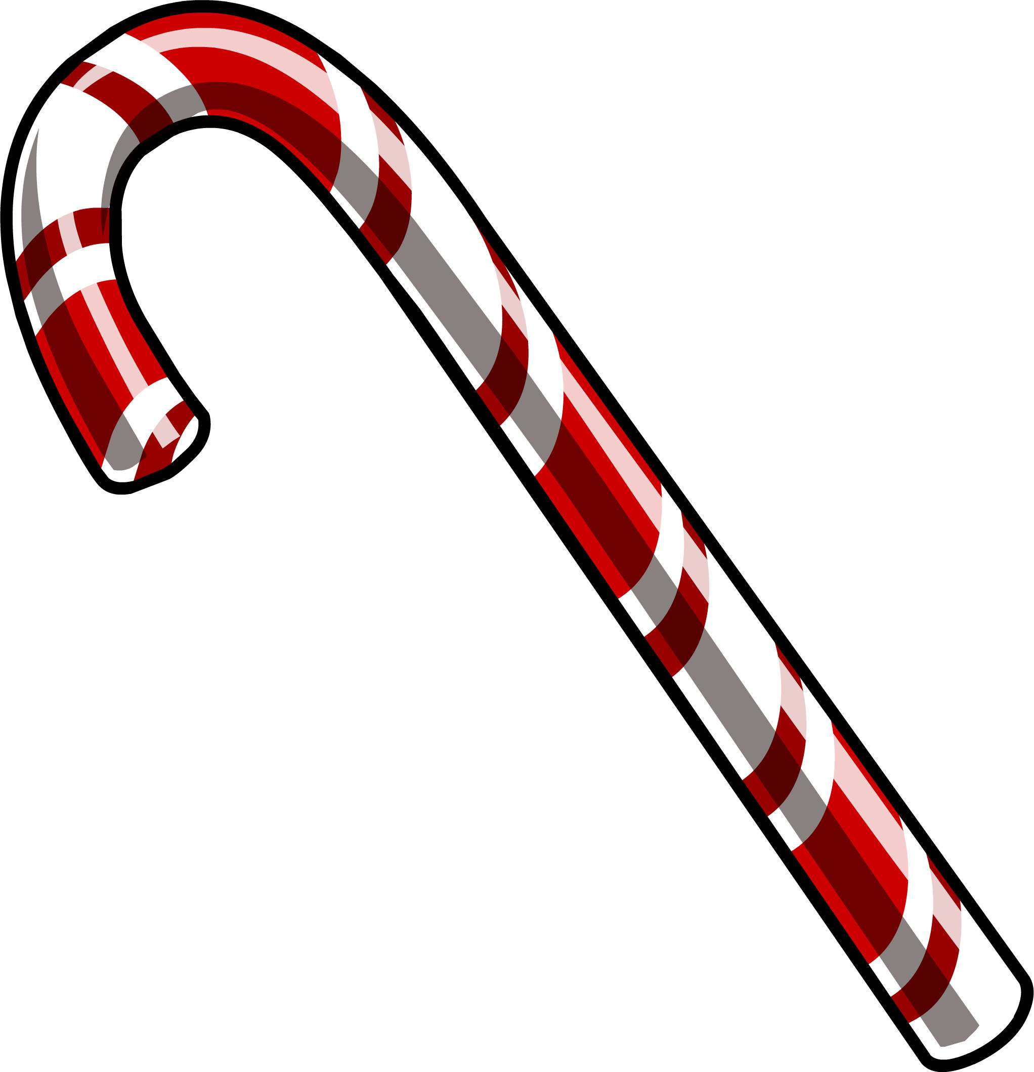 2044x2118 Candy Cane PNG File