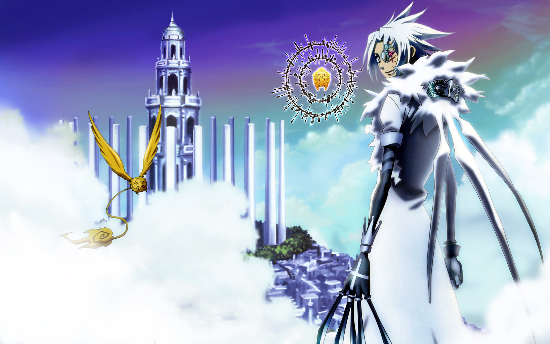 1920x1200 D Gray Man Background