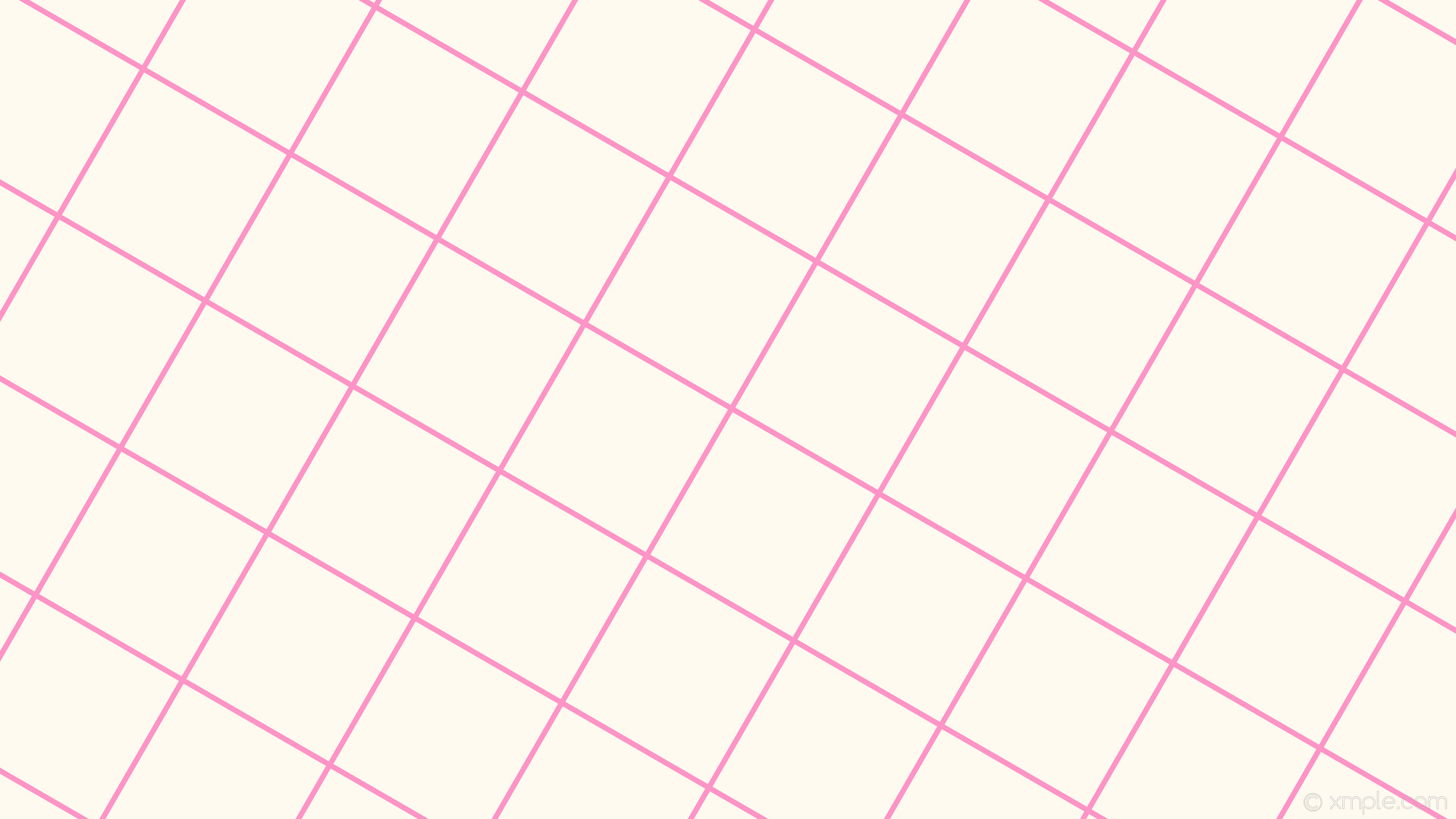 1920x1080 wallpaper pink graph paper white grid floral white hot pink #fffaf0 #ff69b4  60°