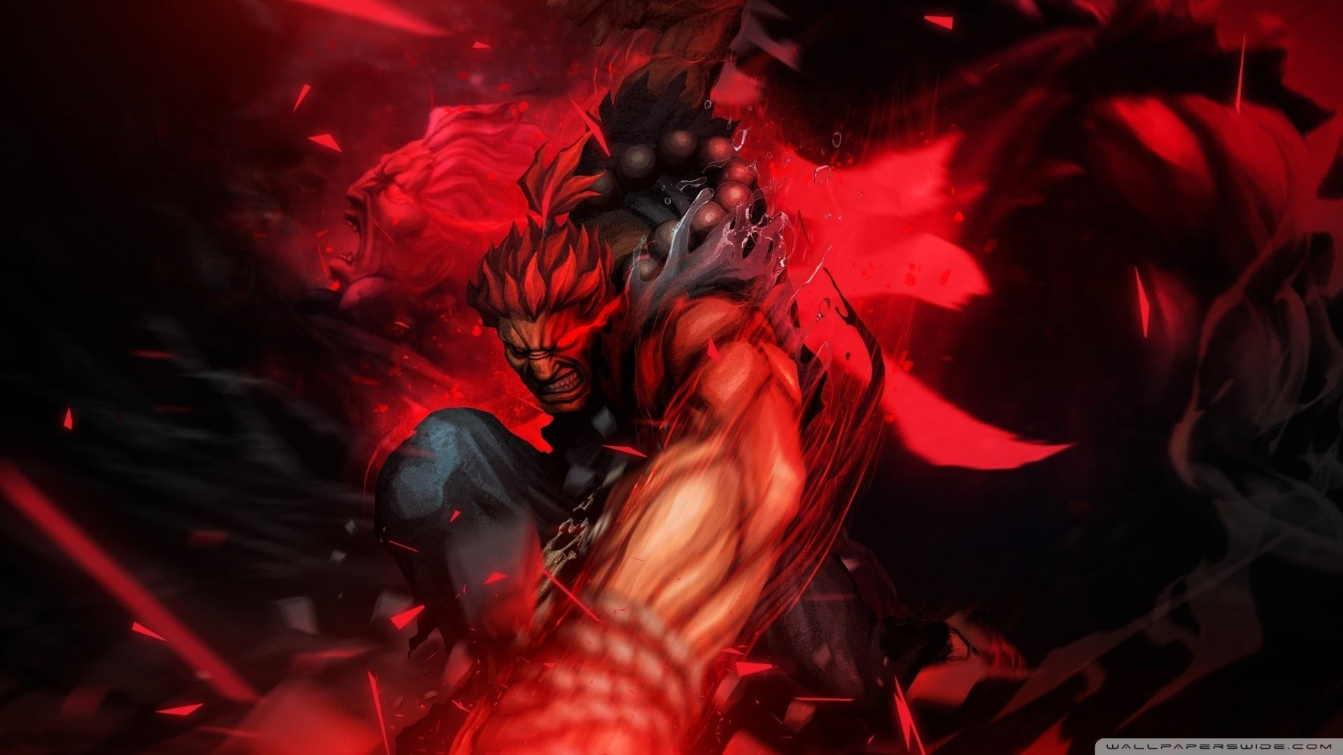 1920x1080 Image result for akuma. Sanctus: and Kenpachi Zaraki ...