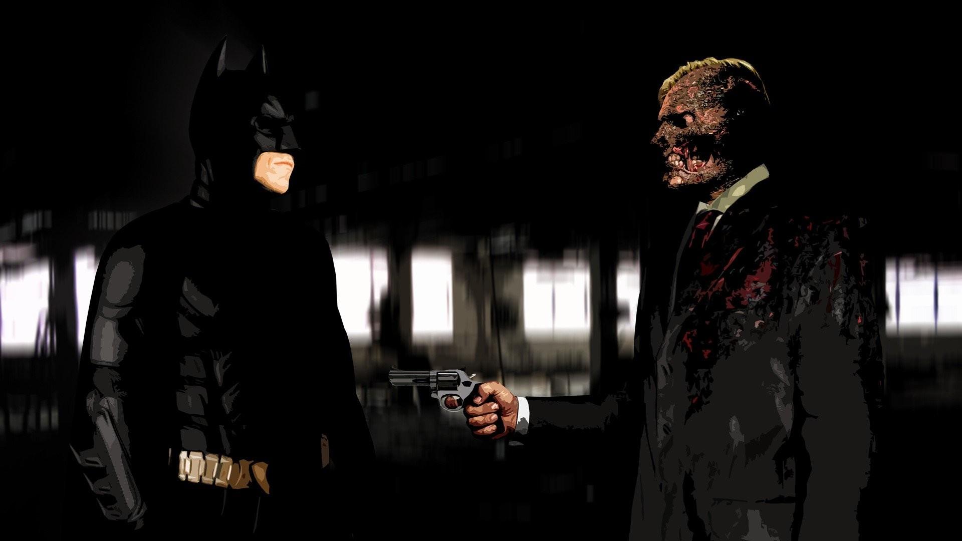 3840x2160 Batman Aaron Eckhart Two Face The Joker Hd Wallpapers For Laptop