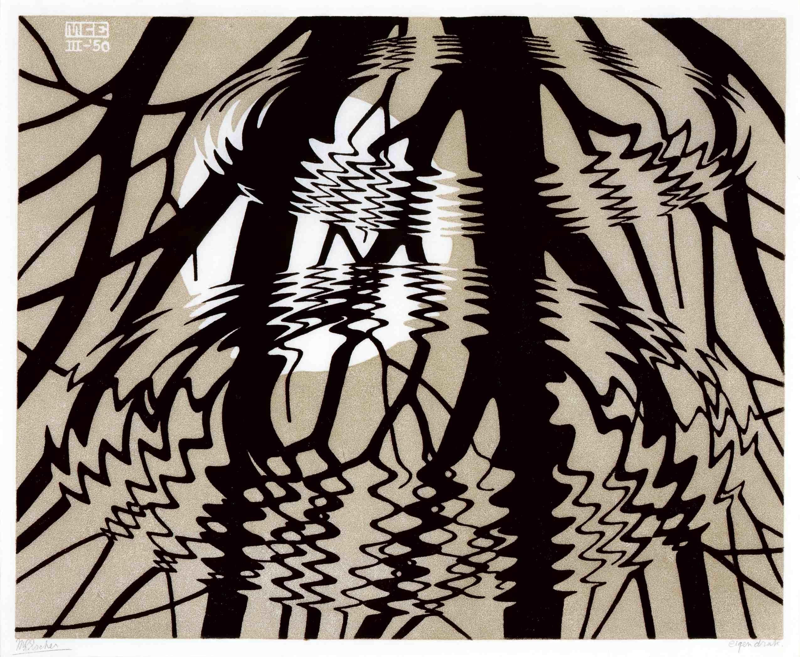 Mc Escher Wallpaper Hd 48 Images