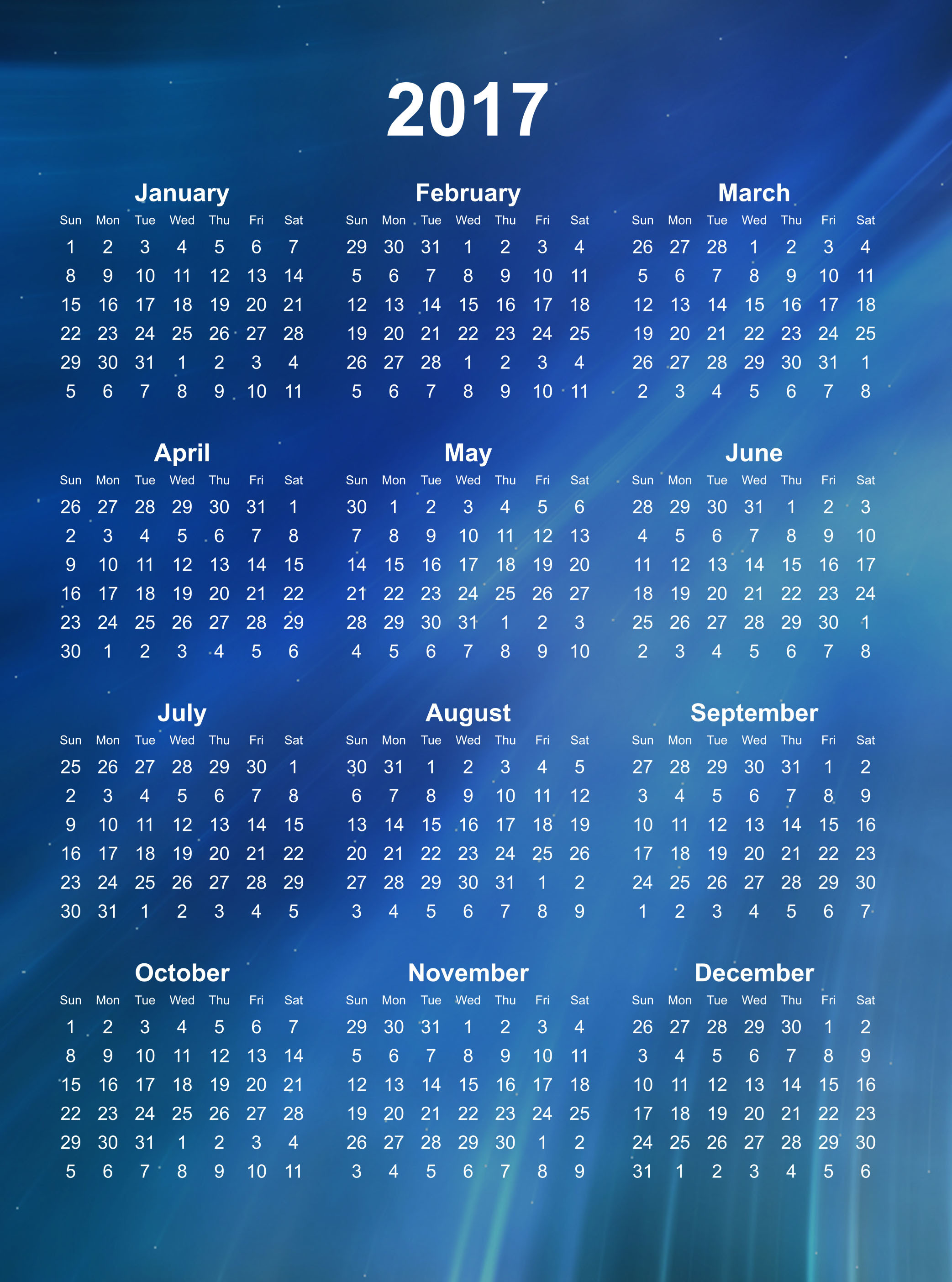 2085x2808 Calendar 2017 wallpapers. Calendar 2017 Best Wallpaper