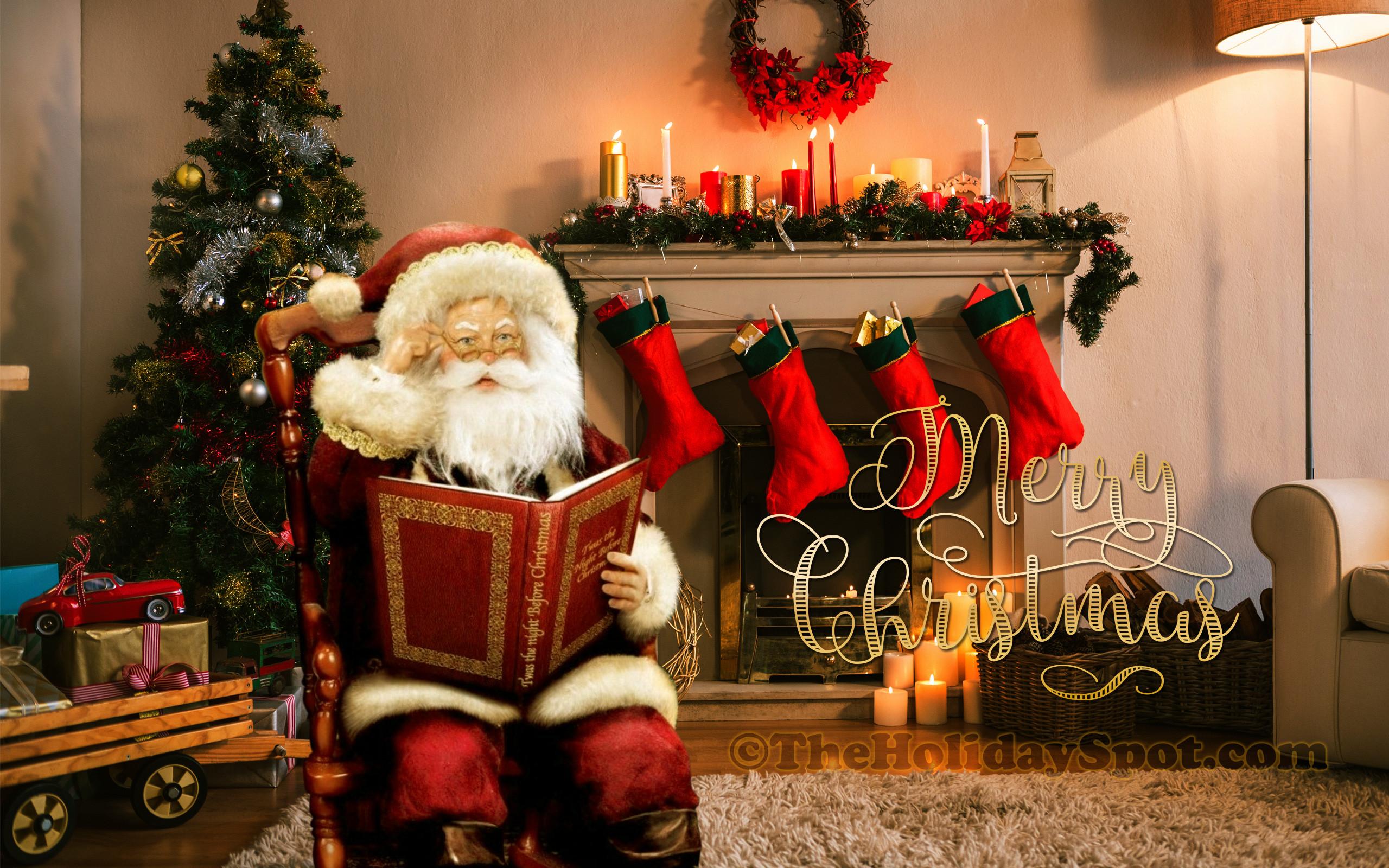 Christmas Wallpaper For Desktop 61 Images