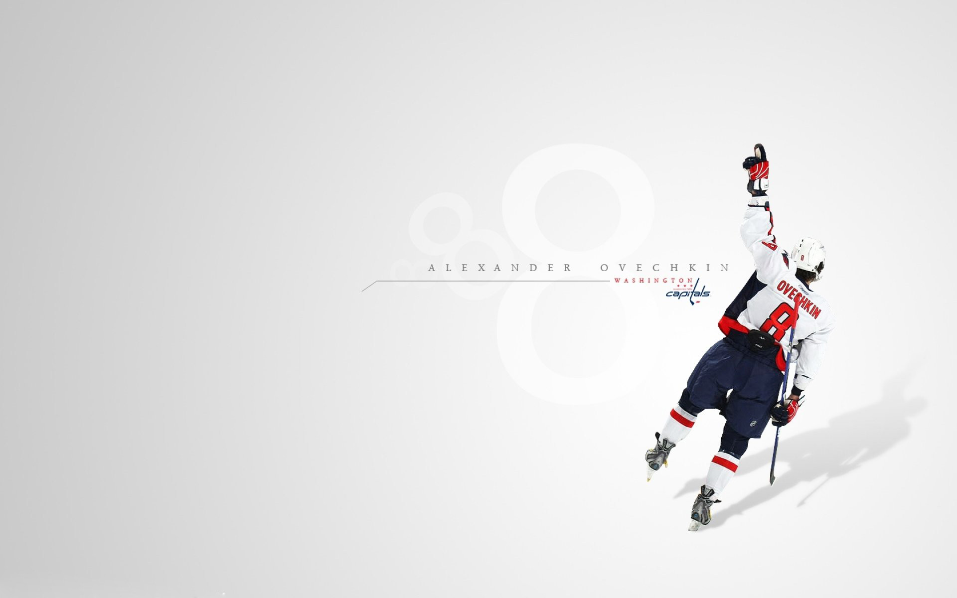 1920x1200 Wallpaper washington sport capitals hockey minimalistic sports.