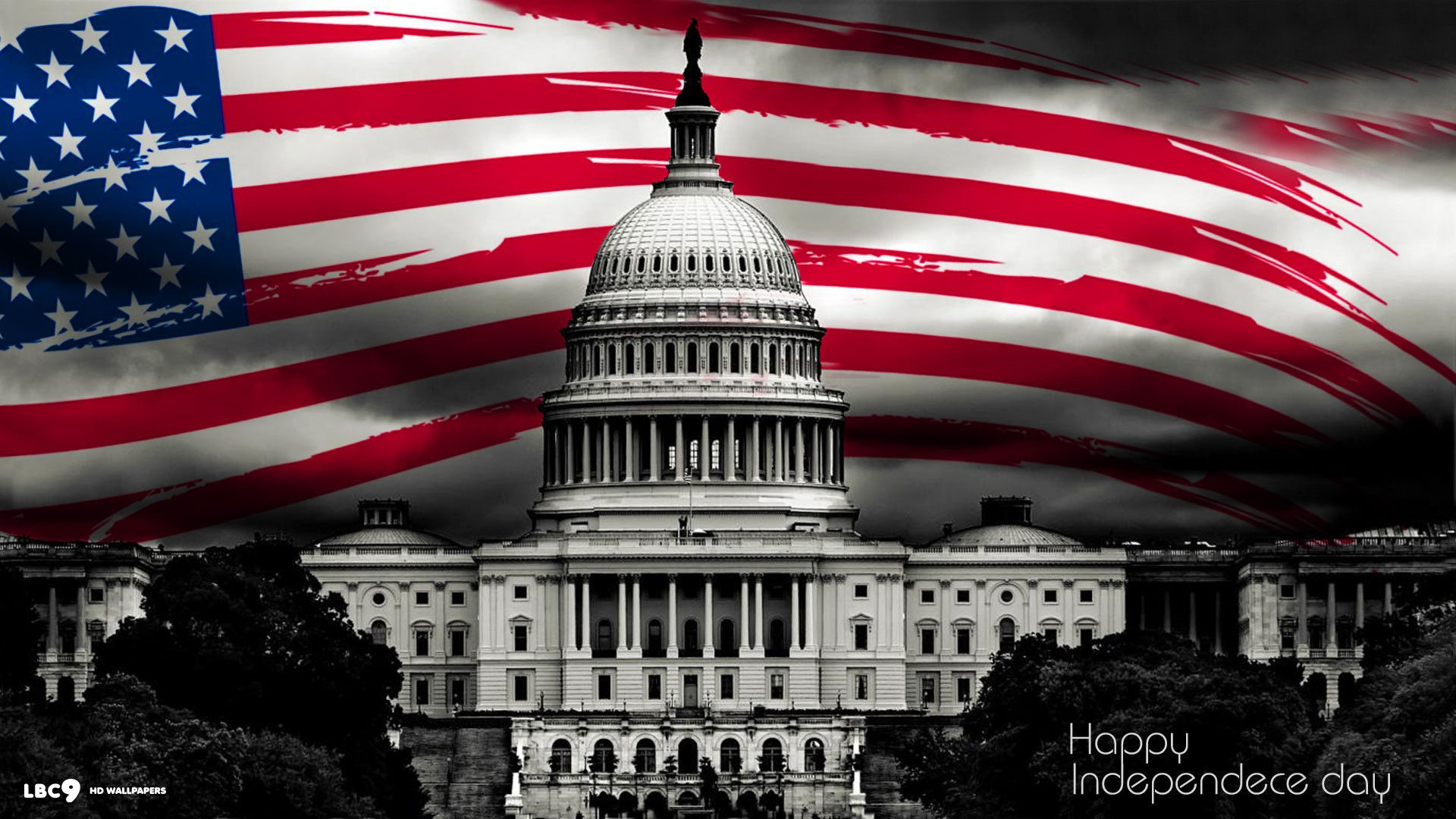 1920x1080 happy independence day 4th july holiday us flag white house holiday desktop  wallpaper