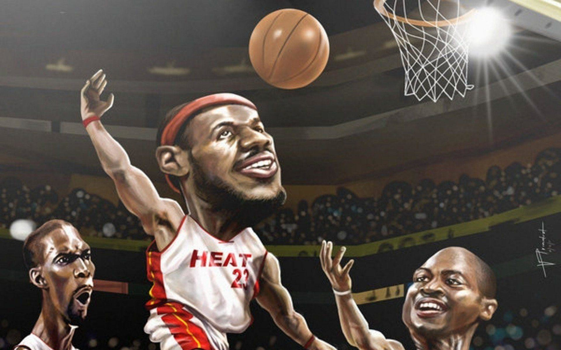 1920x1200 Lebron James Wallpaper Miami Heat Wallpaper » WallDevil - Best .